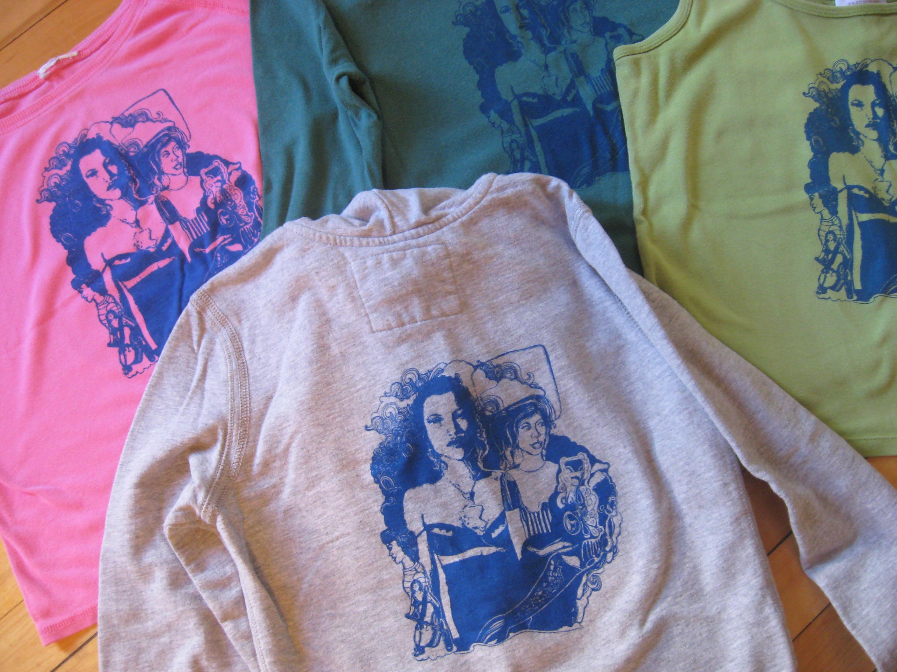 Girls Original T Shirt Design Printed On A Range Of Shirts Eva